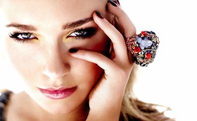 Hayden Panettiere, face, makeup