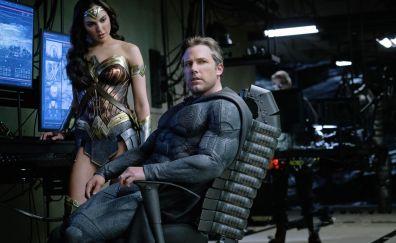 Ben affleck, batman, gal gadot, wonder woman, justice league, 2017 movie, 4k