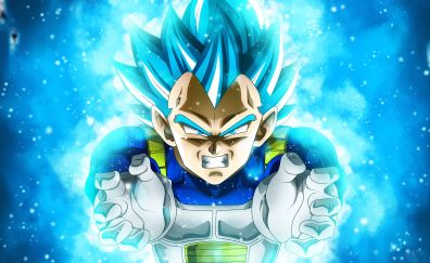Vegeta, anime boy, Dragon Ball Super