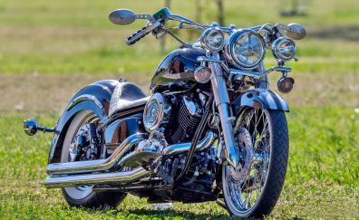 Yamaha V Star 1100 Classic, bike, motorcycle