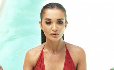 Amy Jackson, wet body, super model