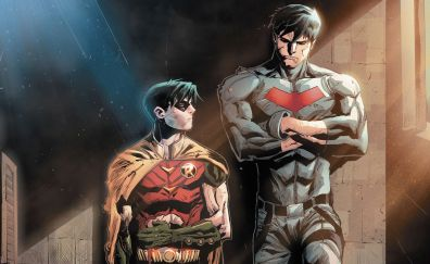 Red hood and robin, comics