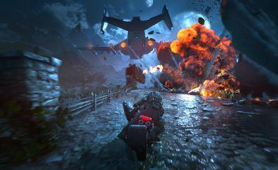Gears of War 4, Video game, gameplay, 4k