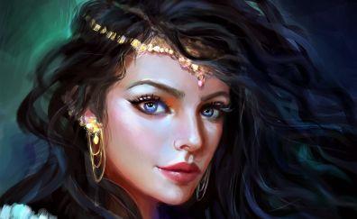 Girl, artwork, fantasy