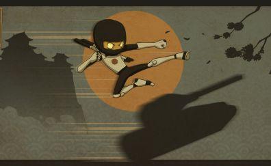 Tanki Online Arcade game, ninjas
