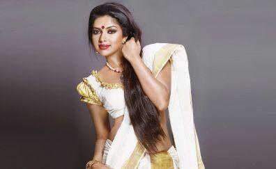 Amala Paul, Indian Actress in saree