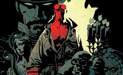 Hellboy, superhero