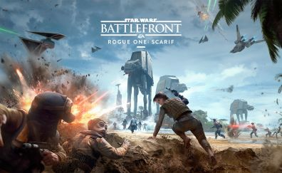 Star Wars Battlefront Getting Rogue One DLC video game