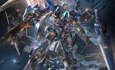 Gundam Versus, cyborg, robot, 4k