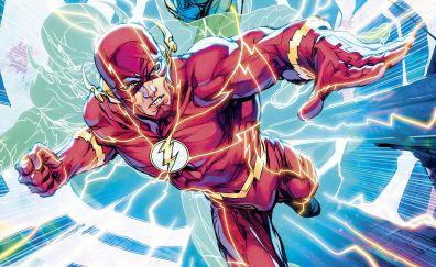 Dc comics, the flash, superhero, run