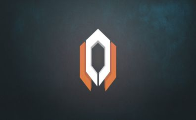 Mass Effect, video game, Cerberus, logo, minimal