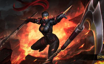Heroes of Newerth, Online game, video game, girl warrior