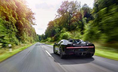 Bugatti Chiron rear view