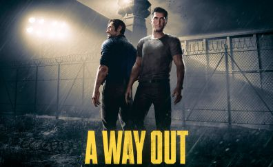A Way Out, video game, 2018 game