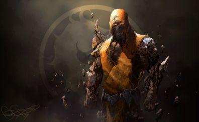 Mortal Kombat video game, Scorpion, warrior