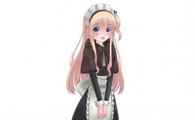 Cute blonde anime girl, Hinako Note