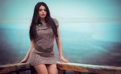 Marianna Bafiti, model, girl