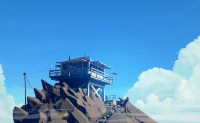 Firewatch game-play