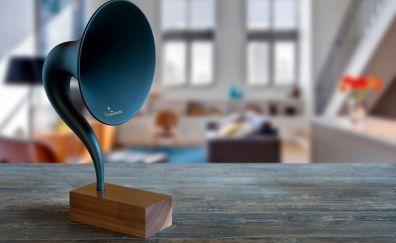 Gramovox bluetooth gramophone, music