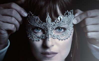Fifty Shades Darker, Dakota Johnson, 2017 movie, poster
