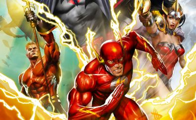 Justice League: The Flashpoint Paradox, 2013 movie, dc comics, The flash