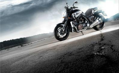 Yamaha vmax bike