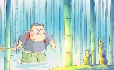 My Neighbors the Yamadas animated movie, bamboo forest