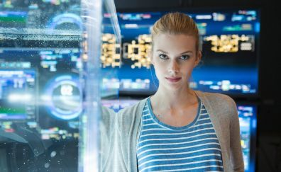 Emma Ishta, blonde, actress, tv show