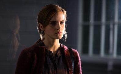 Curious Emma Watson in Regression movie