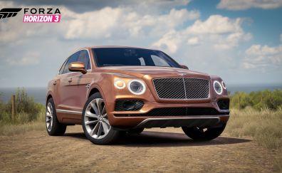 Bentley Bentayga, car, Forza Horizon 3, 2016 game, video game