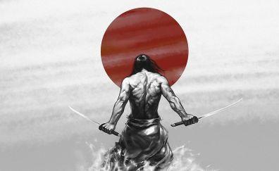 Japanese samurai artwork