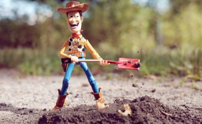 Toy story, figure, toy, cowboy, smile