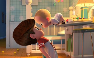 The Boss Baby, animation movie, children play