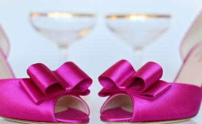 Pink shoes, wedding shoes, shoes