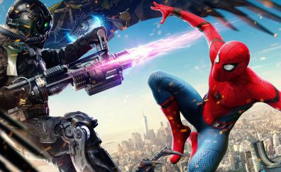 Vulture, spider-man: homecoming, villain, movie, 4k