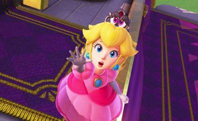 Blonde, princess, super mario odyssey, 4k