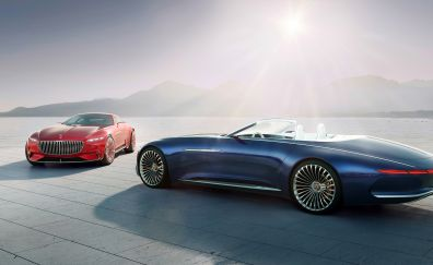 Vision Mercedes-Maybach 6 Cabriolet, luxury cars, 4k
