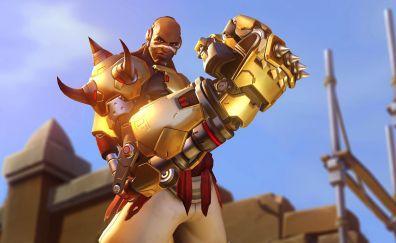 Doomfist, online game, overwatch, fighter, fist
