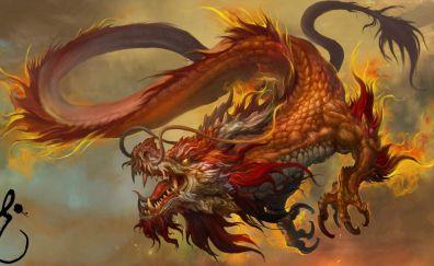 Dragon Chinese artwork
