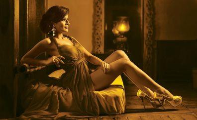 Indian model, hot pose, girl