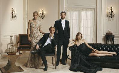 Blood & Oil, tv show, cast