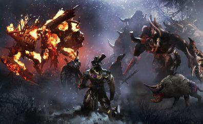 Total War: Warhammer, warrior, video game