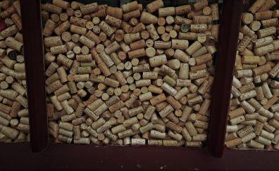 Bottle Cork through window