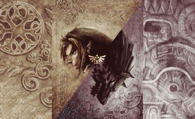 The Legend of Zelda: Twilight Princess, video game, artwork, link