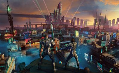 Crackdown 3, video game, game, 2017