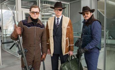 Kingsman: The Golden Circle, 2017 movie, actors