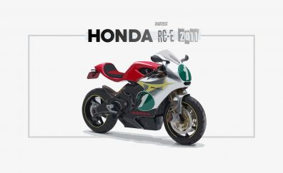 Honda RC-E bike, art