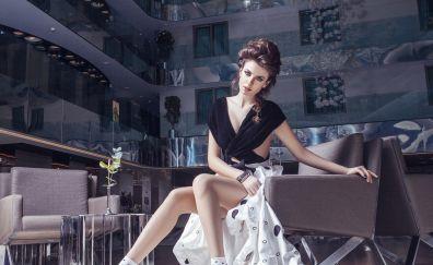 Başak Parlak, actress, celebrity, photoshoot