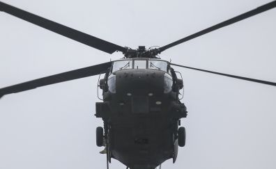 Sikorsky UH-60 Black Hawk, military, helicopter