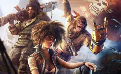 Beyond Good and Evil 2, video game, monkey, characters